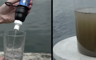 Sawyer water filter for drinkable water